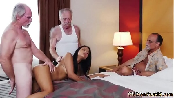 Spanking, Old young, Old and young