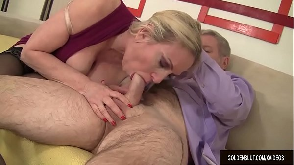 Blonde mature, Thick, Matures sucking
