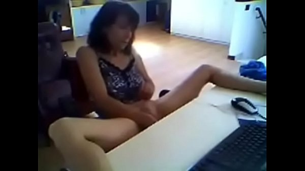 Secretary, Catch, Spy camera, Hidden masturbation