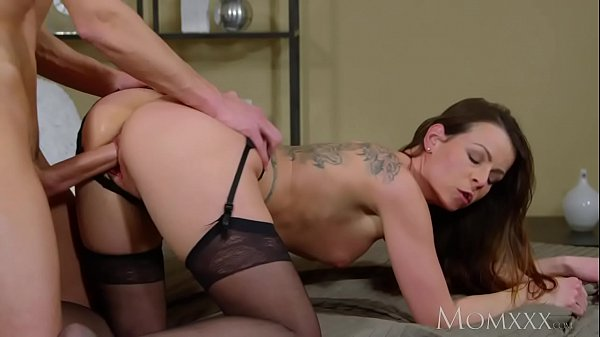 Younger, Milf mom, Creampie mom
