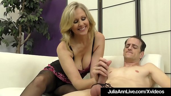 Julia ann, Julia, Foot fuck