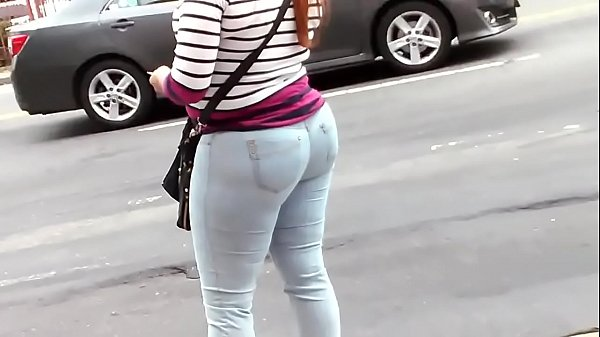 Candid, Big booty, Mature booty, Jeans mature