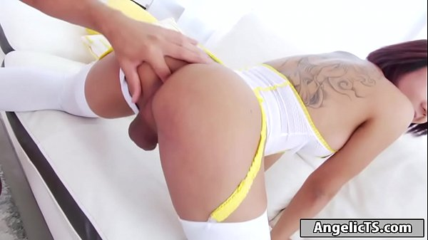 Shemale cock, Milky, Asian shemale, Asian anal