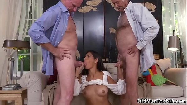 Vintage, Thai girl, Old daddy