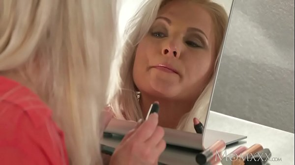 Milf, Fuck stocking, Mom stocking, Milf mom, Blonde mom